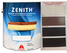 Zenith Water Base Tinted Powder Glaze - 1 Gallon